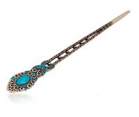 Vintage rhinestone hair stick hair maker child clip hair accessory