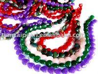 16''L=38cm/strand Mixed Color Jade- Nature Stone-Semi-Precious stone Beads