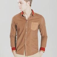 free shipping  news fashion dot 2013 winter  dress long shirts men original brands name man casual chothes designer slim fit