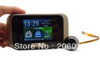 Topselling Diy Free shipping Hotsale video door phone door bell funtion door viewer 2.8 inch color screen