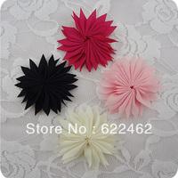 Upick 20pcs Cute Ribbon Flowers Wedding Sewing DIY Crafts Appliques A019