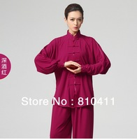 Kung Fu Suit women Martial Art Jacket Pants Set Tai Chi Uniform