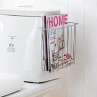 Storage rack finishing frame toilet rack wall magazine rack magazine shelf