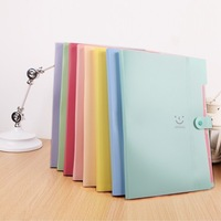 Stationery multi-layer file folder paper bags portable file bag multi-layer paper clip storage