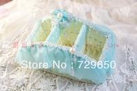 Water blue cloth art receive basket basket/mobile/r debris basket trapezoidal remote control