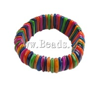 Free shipping!!!Shell Jewelry Bracelet,DIY,Jewelry DIY, 20mm, Length:6.5 Inch, 10Strands/Bag, Sold By Bag