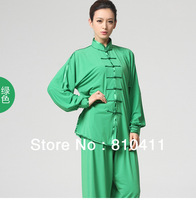 Free shipping, women wing chun kung fu Uniform