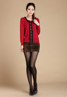 2013 spring laciness 90-degree sweater female cardigan women's all-match sweater outerwear