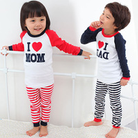 2013 spring and autumn clothing boys girls clothing baby lounge set tz-0999
