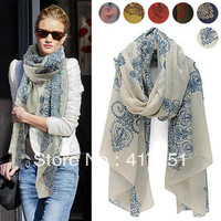 2013 womens scarf, totem restoring ancient ways is Korean of the new cotton scarf, shawl wholesale
