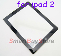 10pcs/lot,high quality,Touch Screen Digitizer with Home Button Assembly for ipad 2 black and white color DHL EMS free shipping
