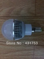 20PCS Free shipping  CREE High Power E14 3*3W Led Bulb Lamp AC85~265V CE&ROHS Cool/Warm white 2 Years warranty 9W Led Light Bulb