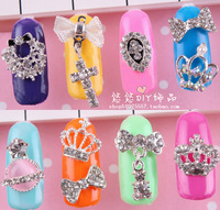 193 - 216 nail art alloy accessories heart butterfly sparkling diamond finger