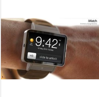 Novelty 2013 watch mobile phone ansus iwatch ultra-thin smart slide qq + dropping shipping