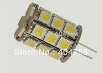 AC / DC12V G4 5W LED Car bulb, 27pcs 5050SMD 590LM