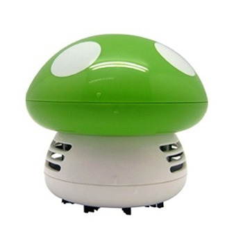 free shipping ! Derlook 1101 multicolour mushroom desktop vacuum cleaner household mini appliances gift