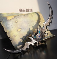WOW world of warcraft Warglaive of Azzinoth Memorial Edition 30cm Keychain