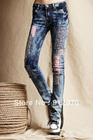 2013 Hot sale New arrive jeans women pencil pants fashion pencil jeans for women promotional