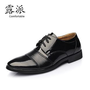 2013 new fashion men's business dress shoes British patent leather shoes low shoes shoes authentic