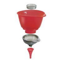 Cuisipro eco-friendly multi-purpose taper funnel set kitchen supplies