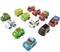 Free shipping Child puzzle mini WARRIOR classic cars baby toy gift set