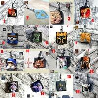WOW world of warcraft Game LOGO Metal phone chain