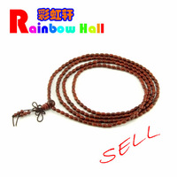 Lobular red sandalwood 216 oval beads necklace bracelets fashion accessories Women