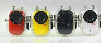 Soprts 1080p miniature hd digital video camera sports waterproof submersible screen belt