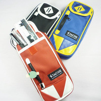 Boys pencil case large capacity school supplies series stationery bags multifunctional canvas pencil case