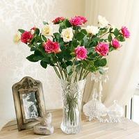 Fish smile fashion fresh high artificial flower rose decoration flower vase dried flowers flower silk flower