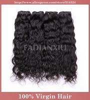 "Queen Hair Product Brazilian Natural Wave,100% Human Virgin Hair Mixed Lengths(12""-30""), Unprocessed Natural Hair Extensions, 5A"