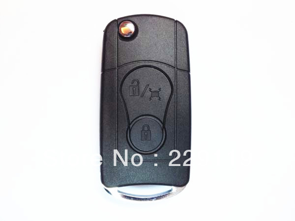 Free Shipping Korea Ssangyong Uncut 2 Button Modified Flip Folding Car Key Blank Shell()
