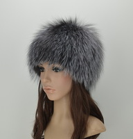 2013 fashion fox knitted millinery fur hat lei feng snow cap millinery