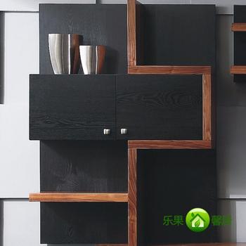 Rogor wall cabinet tv combination tv wall diaogui bookshelf
