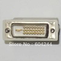 10 pcs/lot DVI 24+1 male to VGA female adapter adapter