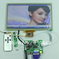 HDMI+VGA+2AV lcd control board+10.1inch N101BCG-L21 IPS lcd+ Multi-touch panel