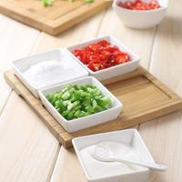 Miu color meters self-shade bamboo ceramic side dish set dish condiment dish