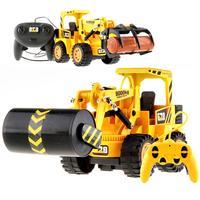 King cheetah excavators construction vehicles charging large remote control car Electric toys children rc car