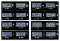 3d nail mold 133 designs for choosing