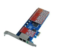 2013Newest!Retail 8 FXS/FXO asterisk pci-express card,Voip analog card for 2U class high