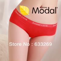 DD&SS Women's Modal Briefs Sweet Love Letter Underwear Daily Underwear Panties WN112 Free Shipping