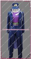 JOJO'S Bizarre Adventure Kujo Jotaro Cosplay Costume 5 pc A Set Cartoon Character For Halloween