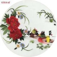 Suzhou embroidery cross stitch diy kit handmade embroidery mandarin duck peony 30X30CM-SX-142
