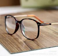 Fashion 2014 designer metal T women's plain mirror sunglass glasess sports SG35 eye accessories  free shipping