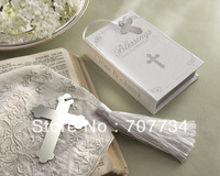 """Blessings"" Silver Cross Bookmarks"