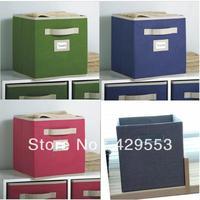 Smoke linen clothes wardrobe storage box toy storage box storage box