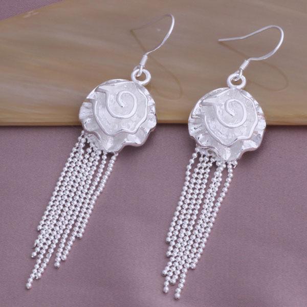 China wholesale Aliexpress earrings flower tassels earrings earings fashion cheap jewelry supplies YAE248(China (Mainland))