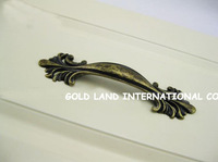 96mm Free shipping bronze-color zinc alloy bedside cupboard handle drawer handle