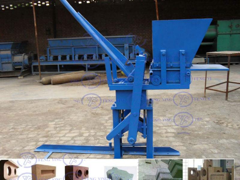 Interlocking brick machine ,cheap paver block making machine(China (Mainland))