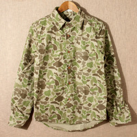 2013 autumn men's clothing men's personality vintage tooling Camouflage casual long-sleeve shirt male
